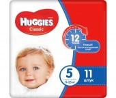 Huggies Подгузники Classic 5 (11-25 кг) 11 шт.