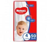 Huggies Подгузники Classic Jumbo 4 (7-18 кг) 50 шт.
