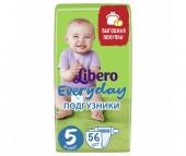 Libero Подгузники EveryDay с ромашкой (11-25 кг) 56 шт.