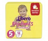 Libero Подгузники-трусики Dry Pants (10-14 кг) 18 шт.