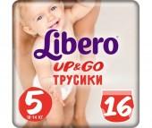Libero Подгузники-трусики Up&Go (10-14 кг) 16 шт.