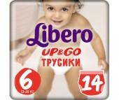 Libero Подгузники-трусики Up&Go (13-20 кг) 14 шт.