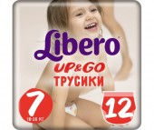 Libero Подгузники-трусики Up&Go (16-26 кг) 12 шт.