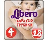 Libero Подгузники-трусики Up&Go (7-11 кг) 18 шт.