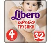 Libero Подгузники-трусики Up&Go (7-11 кг) 32 шт.