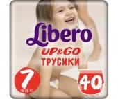 Libero Подгузники-трусики Up&Go Mega Pack (16-26 кг) 40/42 шт.