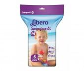Libero Подгузники-трусики Swimpants для плавания (10-16 кг) 6 шт.