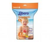 Libero Подгузники-трусики Swimpants для плавания (7-12 кг) 6 шт.