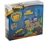 Dave Toy Заправочная станция с 1 машинкой
