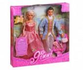 Jinni Кукла Золушка с принцем 83066