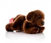 Мягкая игрушка Aurora Шоколадный лабрадор 28 см