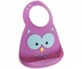 Нагрудник Make my day Baby Bib Owl