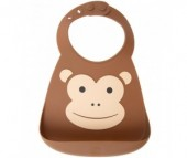 Нагрудник Make my day Baby Bib Monkey