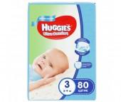Huggies Подгузники Ultra Comfort Mega для мальчиков 3 (5-9 кг) 80 шт.