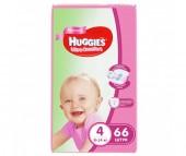 Huggies Подгузники Ultra Comfort Mega для девочек 4 (8-14 кг) 66 шт.