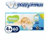 Huggies Подгузники Ultra Comfort Mega+ для мальчиков 4+ (10-16 кг) 60 шт.
