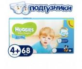 Huggies Подгузники Ultra Comfort Giga Pack для мальчиков 4+ (10-16 кг) 68 шт.