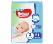 Huggies Подгузники Ultra Comfort Conv Pack для мальчиков 3 (5-9 кг) 21 шт.