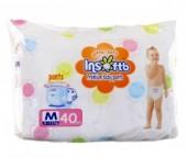 Insoftb Трусики-подгузники Premium Ultra-soft M (6-11 кг) 40 шт.