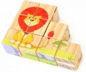 Деревянная игрушка Lucy & Leo Кубики