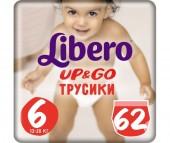 Libero Подгузники-трусики Up&Go Giga Pack (13-20 кг) 62 шт.
