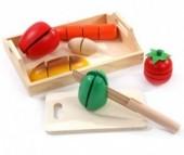 Деревянная игрушка Мир деревянных игрушек (МДИ) Готовим завтрак средний
