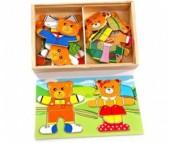 Деревянная игрушка Мир деревянных игрушек (МДИ) Два медведя