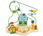 Деревянная игрушка Мир деревянных игрушек (МДИ) Сортер лабиринт Цирк