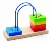 Деревянная игрушка Мир деревянных игрушек (МДИ) Счеты перекидные малые