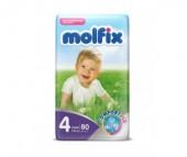 Molfix Подгузники Comfort Fix Макси 7-14 кг 80 шт.