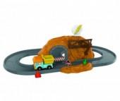 Робокар Поли (Robocar Poli) Набор Пещера с камнями и металлической машинкой Дампи