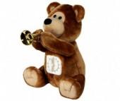 Мягкая игрушка Ваш подарок Поющий Медвежонок с таймером