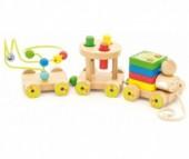 Деревянная игрушка Мир деревянных игрушек (МДИ) Паровозик Чух-чух №2