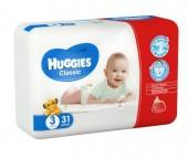 Huggies Подгузники Classic Conv Pack 2 (4-9 кг) 31 шт.