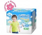 Genki Подгузники-трусики Nepia Premium Soft XL (12-17 кг) 26 шт.