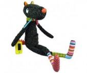 Мягкая игрушка Ebulobo Синьор волк с телефоном 60 см