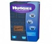 Huggies Подгузники-трусики для мальчиков Джинс Мега 4 (9-14 кг) 52 шт.