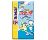 GooN Подгузники-трусики XL (12-20 кг) для мальчика 50 шт.