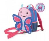 Skip-Hop Рюкзак детский с поводком Бабочка