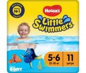Huggies Трусики-подгузники для плавания 5-6 (12-18 кг) 11 шт.