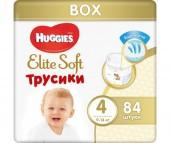 Huggies Подгузники-трусики Elite Soft 4 (9-14 кг) 84 шт.