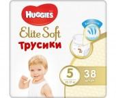 Huggies Подгузники-трусики Elite Soft 5 (12-17 кг) 38 шт.