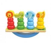 Деревянная игрушка Mapacha Игра-баланс Животные