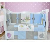 Комплект в кроватку Лапуляндия ЛДР076 (8 предметов)