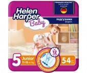 Helen Harper Подгузники Baby Junior (11-18 кг) 54 шт.
