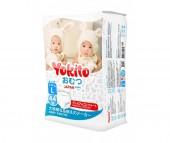Yokito Подгузники-трусики L (9-14 кг) 48 шт.