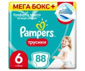 Pampers Подгузники-трусики Pants Extra Large р.6 (15+ кг) 88 шт.