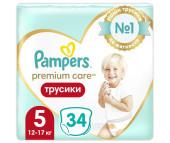 Pampers Подгузники-трусики Premium Care Pants Junior р.5 (12-18 кг) 40 шт.