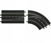 Carrera Дополнение к треку Поворот справа со сменой полосы с внешней на внутреннюю