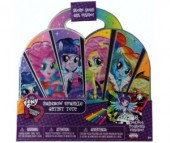 Fashion Angels Набор бархатных постеров My little pony Equestria girls Rainbow Rocks